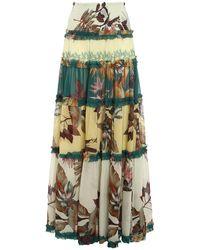 Pinko Titanic Skirt - Multicolour