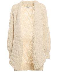 Dondup Cable-knit Cardigan - Natural