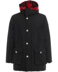 Woolrich Reversible Padded Parka - Black
