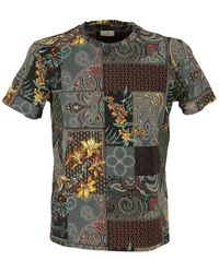 Etro Floral Paisley Printed T-shirt - Multicolor