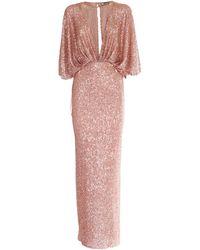 Elisabetta Franchi - Sequined Dress - Lyst