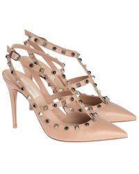 Valentino Garavani Rockstud Court Shoes - Pink
