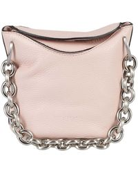 Gianni Chiarini Sophia Soft Bucket Bag - Pink