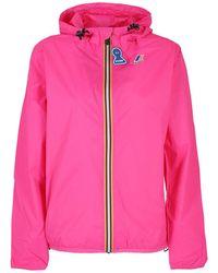 K-Way Le Vrai 30 Claude Nylon Jacket - Pink