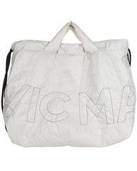 Vic Matié Penelope Shopping Bag In White