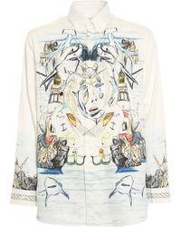 Burberry Camicia con stampa - Bianco