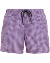 Drumohr Biscuit Patterned Swimshorts - Pink