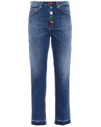 Dondup Koons Loose Fit Jeans - Blue