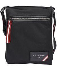 Bally - Fincher Fabric Cross Body Bag - Lyst