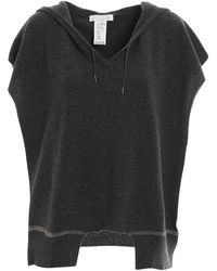 Fabiana Filippi Open Sides Hooded Knitted Sweater - Gray