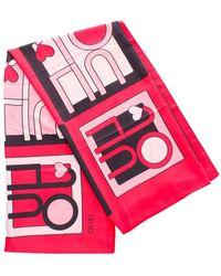 Liu Jo Sciarpe & Stole Foulard Donna Rosso - Red