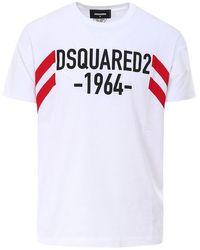 DSquared² T-shirt 1964 - Bianco