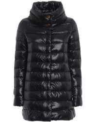 Herno Black Down Amelia Coat