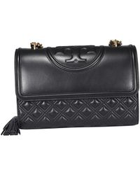 Tory Burch - Fleming Quilted Leather Bag - Lyst