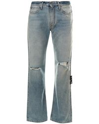 Off-White c/o Virgil Abloh Jeans Diagonal - Blu