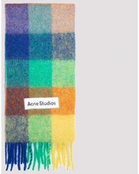 Acne Studios Wool Scarf Unica - Green