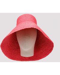 Jacquemus Pink Le Grand Chapeau Valensole