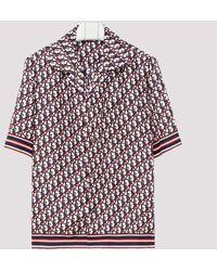Dior Homme Monogram Print Bowling Shirt - Multicolour