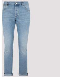 Brunello Cucinelli Skinny Jeans 52 - Blue