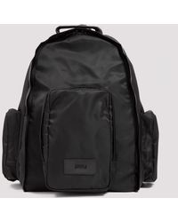 Juun.J Nylon Backpack Unica - Black