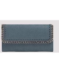 Stella McCartney Falabella Wallet Unica - Blue