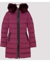Mackage Calla Raspberry Down Coat - Red