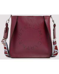 Stella McCartney Mini Cross Body Eco Soft Bag Unica - Purple