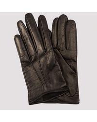 Miu Miu Black Leather Gloves 6
