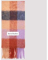 Acne Studios Wool Scarf Unica - Multicolour