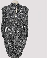 Isabel Marant Bruna Paisley Print Silk Dress - Multicolor