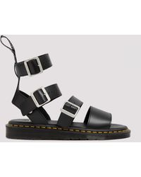 Rick Owens Gryphon Sandals 8 - Black