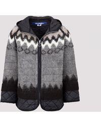 Junya Watanabe Wool Coat - Grey