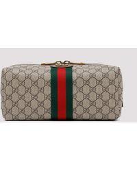 Gucci Ophidia Gg Toiletry Case - Multicolour