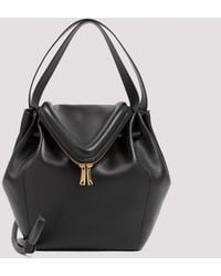 Bottega Veneta Leather Satchel Bag Unica - Black