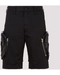 Stone Island Shadow Project Black L0109 Cargo Shorts
