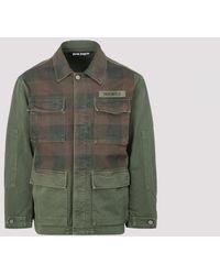 Palm Angels - Military Buffalo Field Jacket S - Lyst