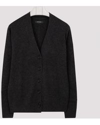 Isabel Marant Aries Faded Black Cashmere Cardigan