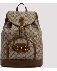 Gucci 1955 Horsebit Backpack - Brown