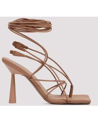 GIA X RHW Rosie 6 Lace-up Sandals - Multicolor