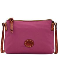 Dooney & Bourke - Nylon Crossbody Pouchette - Lyst