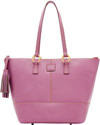 Dooney & Bourke Florentine Small Tobi Tote - Purple