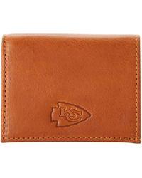 Dooney & Bourke Nfl Chiefs Credit Card Holder - Brown
