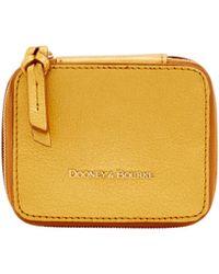 Dooney & Bourke - Metallic Leather Travel Jewelry Case - Lyst