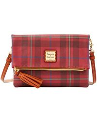 Dooney & Bourke - Tiverton Foldover Zip Crossbody - Lyst