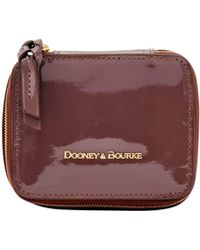 Dooney & Bourke - Patent Leather Travel Jewelry Case - Lyst