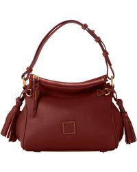 Dooney & Bourke Florentine Tassel Shoulder Bag - Brown