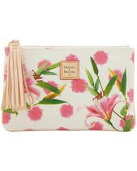 Dooney & Bourke - Flowers Carrington Pouch - Lyst