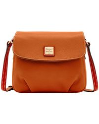Dooney & Bourke - Pebble Grain Flap Crossbody - Lyst