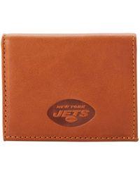 Dooney & Bourke Nfl Cowboys Credit Card Holder - Brown