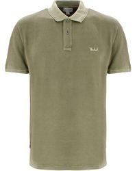 Woolrich Logo Polo Shirt - Green